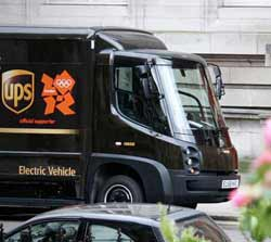 UPS electric vehicle