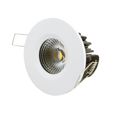 Dimmable integral COB LED downlight