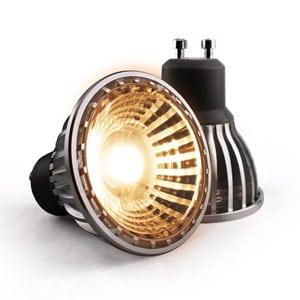 6w COB LED GU10 bulb