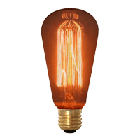 Rustika / Squirrel Cage Bulbs - On