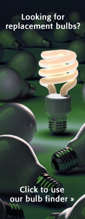 Find your replacement bulbs using our light bulb finder