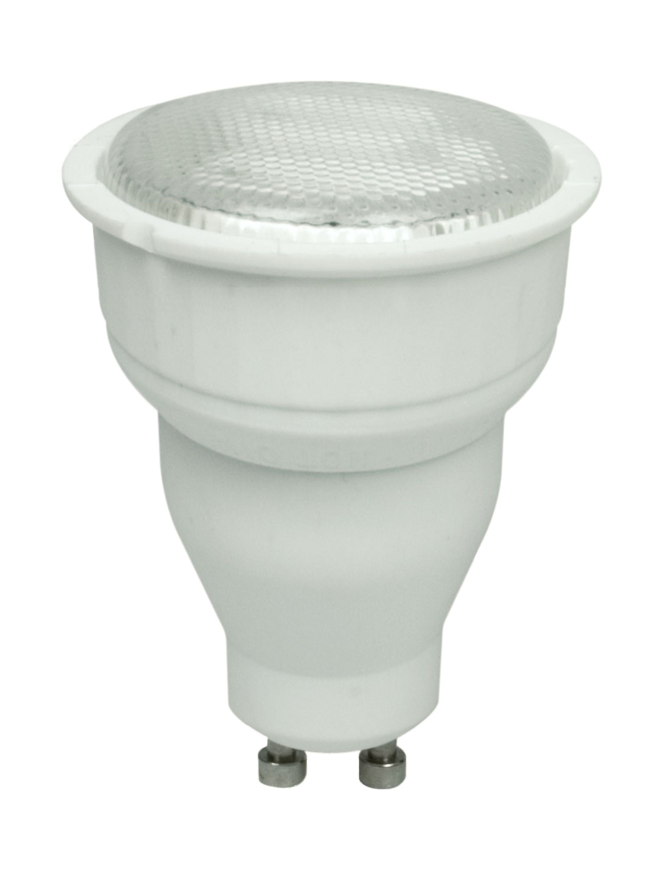 5.8w GU10 LED spot bulb (4000k, glass, dimmable, 420lm =55w)